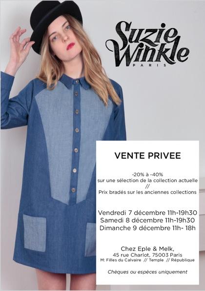 Suzie Winkle Vente privée