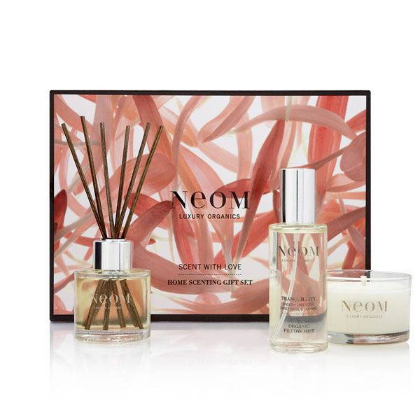 Ecocentric coffret cadeau parfum ambiance bio Neom Luxury Organics