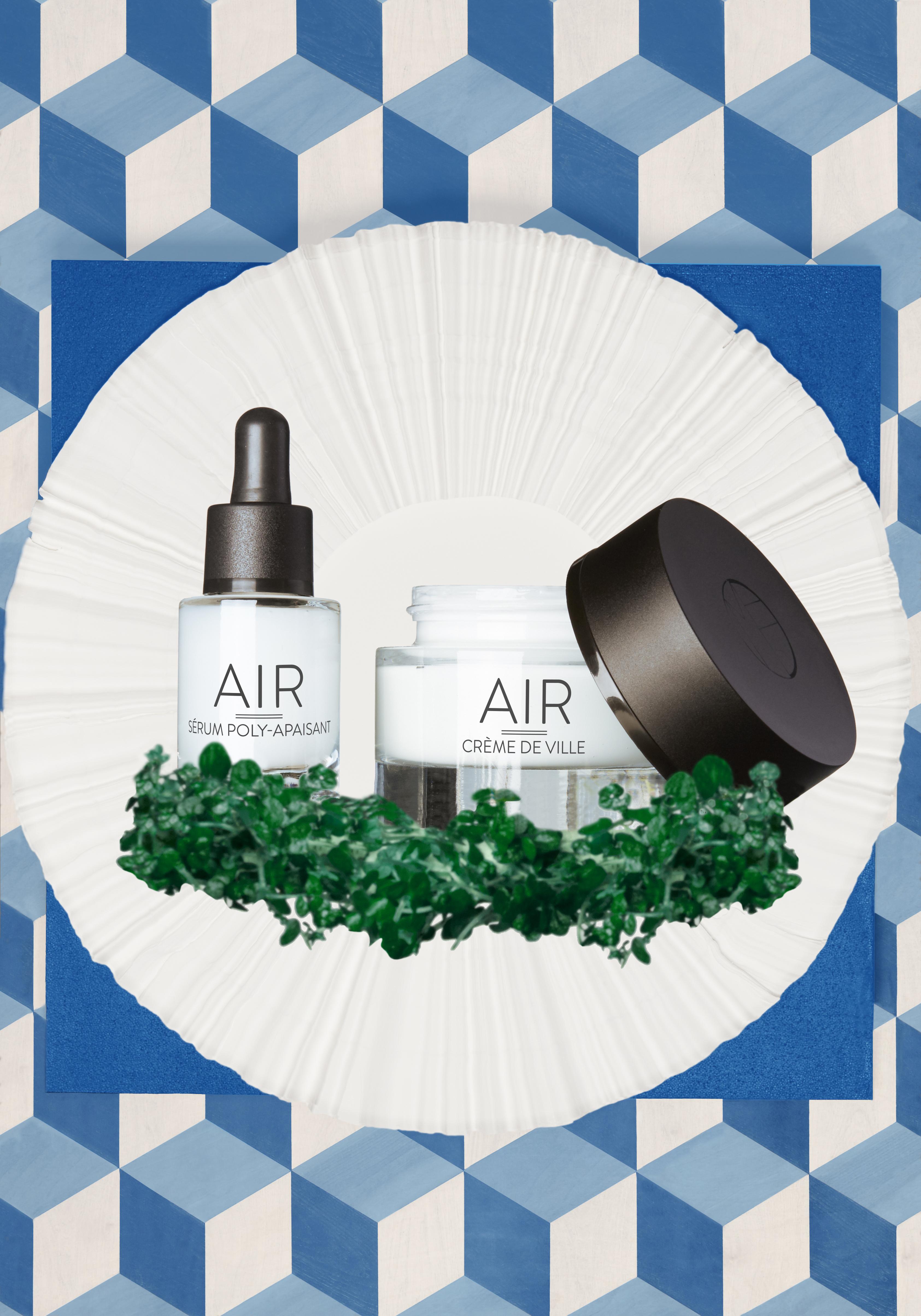 Maison Flamel soins rituels cosmetiques de luxe naturelle AIR - CREME ET SERUM