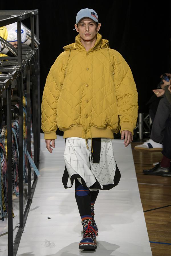 paris fashion week Défilé - Henrik Vibskov - Homme automne-hiver 2018-2019