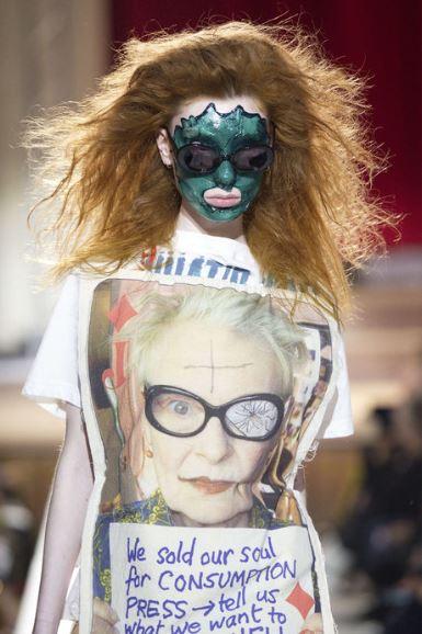 Vivienne Westwood défilé automne hiver 2019 london fashion week 4