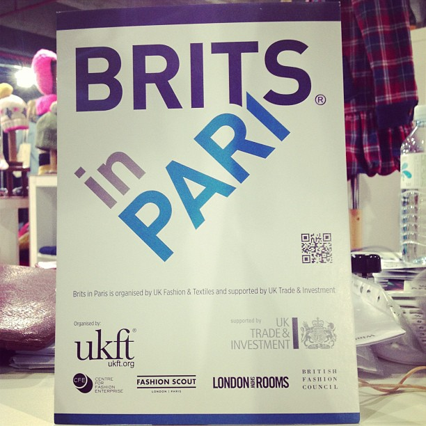 Brits in Paris Lowie Handmade in England @ Capsule show Paris