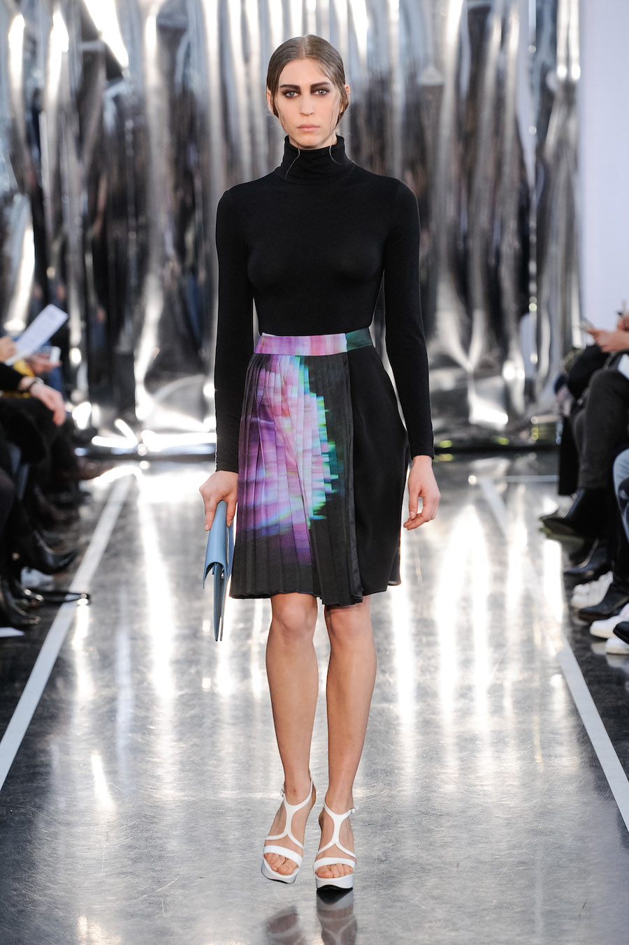 CHRISTINE PHUNG GLITCHOLOGIE PARIS FASHION WEEK FW15 16 INSTITUT DU MONDE ARABE