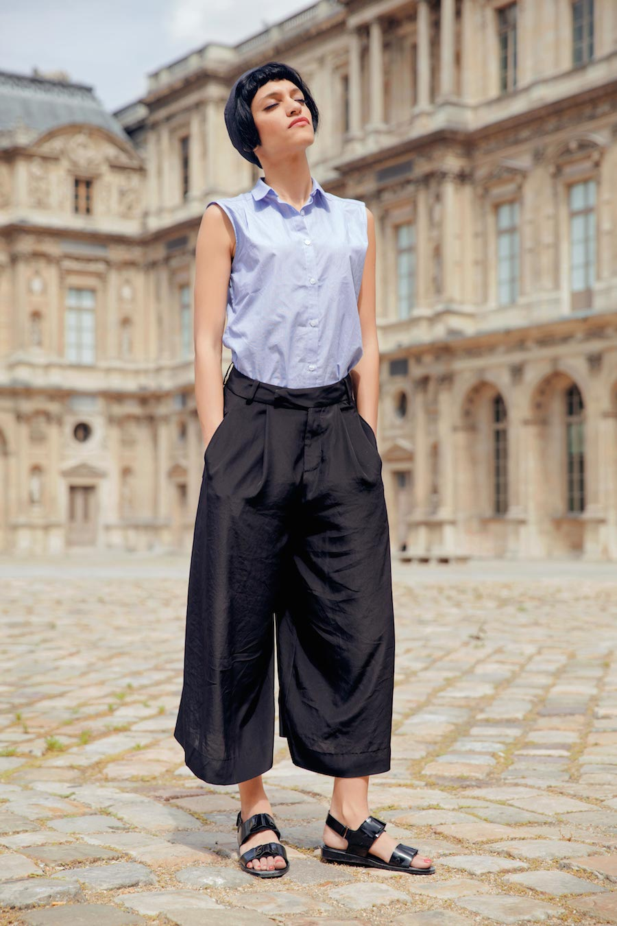 LOOK ETE PARIS BLOG MODE BETON CIRE FOLK MISERICORDIA CHRISTOPHE LEMAIRE 4